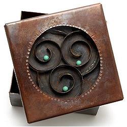 Health, Happiness, Wisdom Reliquary Box