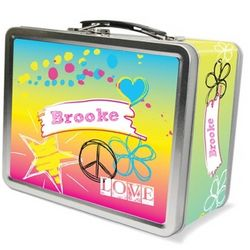 Rockin' Rainbow Lunch Box