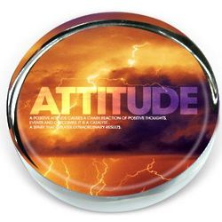 Attitude Lightning Outlook Paperweight