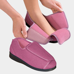 Women's Extra Extra Wide Width Adaptive Slippers