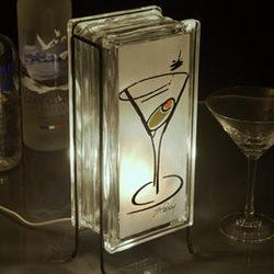 Martini Glow Lamp