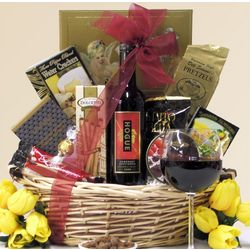 Hogue Cellars Cabernet Sauvignon Gourmet Wine Gift Basket