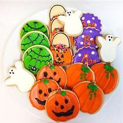 Trick or Treat Sugar Cookies Gift Tin