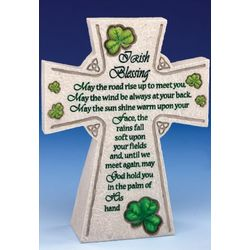Irish Blessing Standing Table Cross