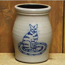 Cat Utensil Jar