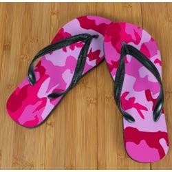 Pink Camo Beacher Sandals