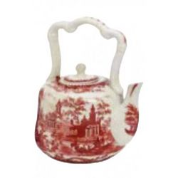 Porcelain Teapot With Handle