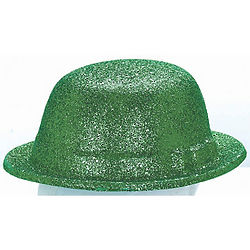 St. Patrick's Day Glitter Derby Hat