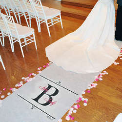 Personalized Regal Aisle Runner