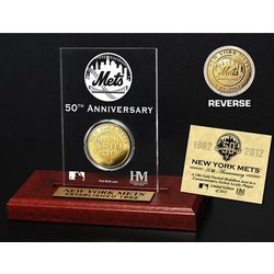New York Mets 50th Anniversary Desktop Acrylic