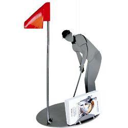 Golf Player Business Card Holder