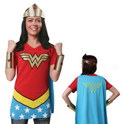 Caped Wonder Woman T-Shirt