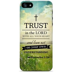 Proverbs 3:5 Bible Series Cell Phone Case