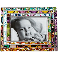 Geometric Stained Glass Large Picture Frame