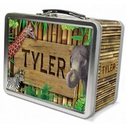 Zoo Animals Lunch Box