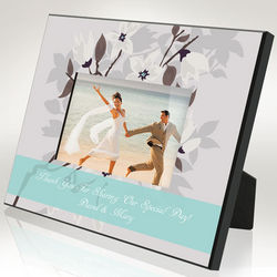 Personalized Thank You On Our Special Day Picture Frame