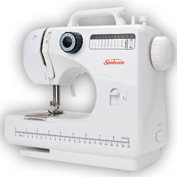 Sunbeam 12-Stitch Sewing Machine and Kit