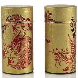 Phoenix and Dragon Tea Tin Set
