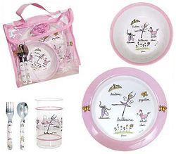 Baby Cie Ballerina Dish Set