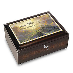 Let Your Faith Be Bigger Than Your Fear Music Box
