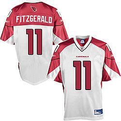 Arizona Cardinals #11 Larry Fitzgerald Replica Football Jersey