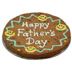 Decorated Giant Cookie Cake for Father's Day