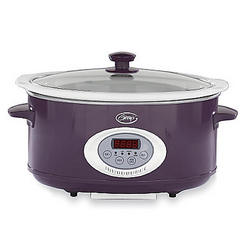 6.5 Quart Oval Digital Slow Cooker