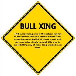 Bull Xing Sign