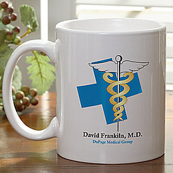 10 Medical Specialities Personalized Coffee Mug