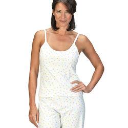 Confetti Cami Pajamas - White/Pastel