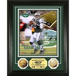 Mark Sanchez Framed Photo Mint with Dual Coins