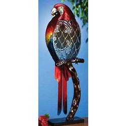 Colorful Parrot Figure Fan