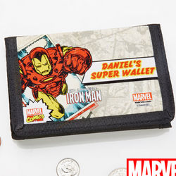 Personalized Retro Marvel Comics Wallet