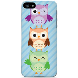 Happy Owl Pals iPhone 5 Protective Case
