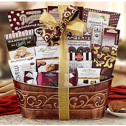 Chocolate and Sweets Gift Basket Assortment