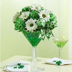 Green Dublin Cocktail Bouquet