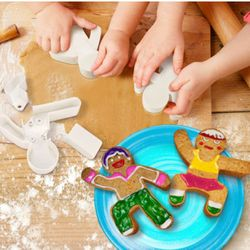 Gingerbread Action Man Cookie Cutter Set