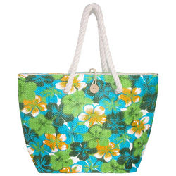 Hibiscus Toyo Tote with Rope Handles