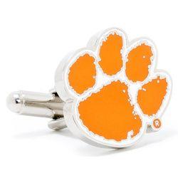 Clemson University Tigers Enamel Cufflinks