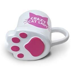 Totally Pawesome Crazy Cat Lady Mug