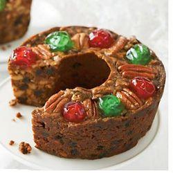 1-Pound Traditional Fruitcake