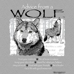 Advice From a Wolf T-Shirt