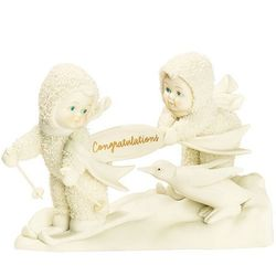 Snowbabies Celebrations Congratulations Figurine