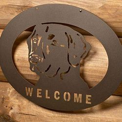 Lab Welcome Sign