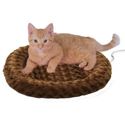 Thermo-Kitty Fashion Splash Heated Cat Bed