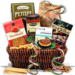 Italian Dinner for Mom Mother's Day Gift Basket