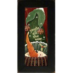 Jingle All The Way Framed Christmas Print