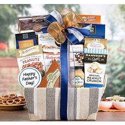 Sweet and Savory Father's Day Gift Basket