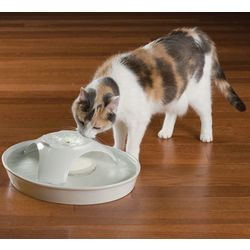 72-Ounce Ceramic Pet Fountain