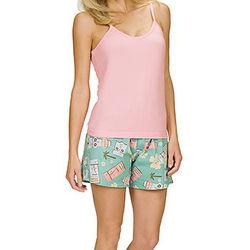 Tiki Shorts Pajama Set